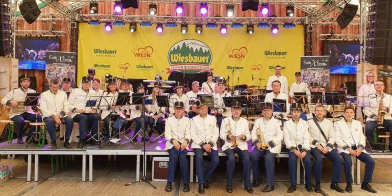 Stadtmusik Hollabrunn auf der Wiener Wiesn