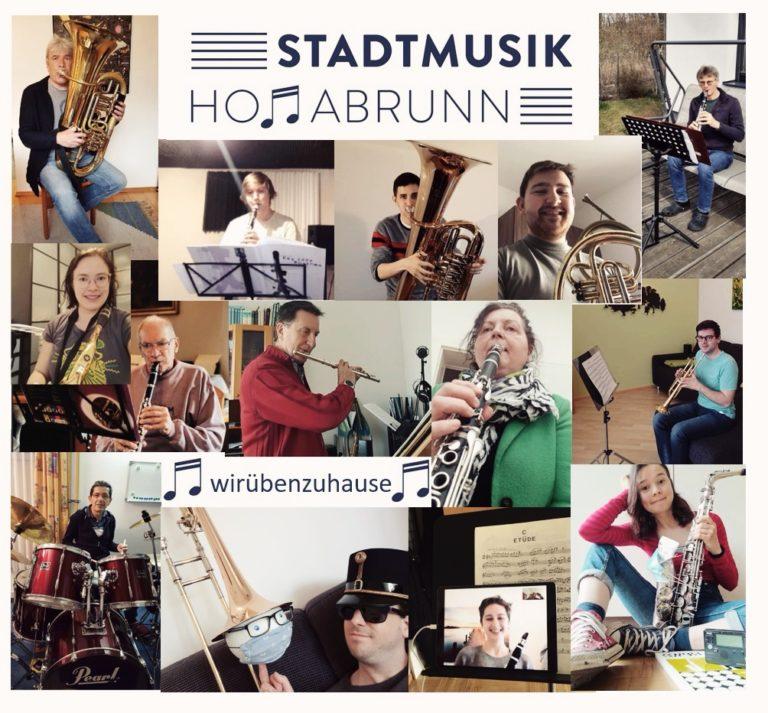 Stadtmusik Hollabrunn probt zu Hause