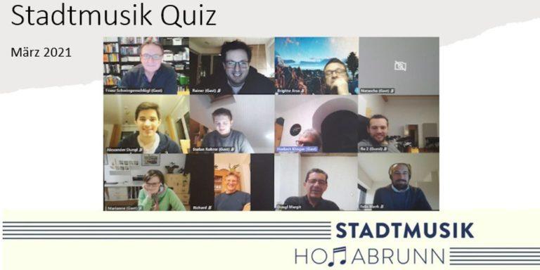 Stadtmusik Hollabrunn - Online Quiz