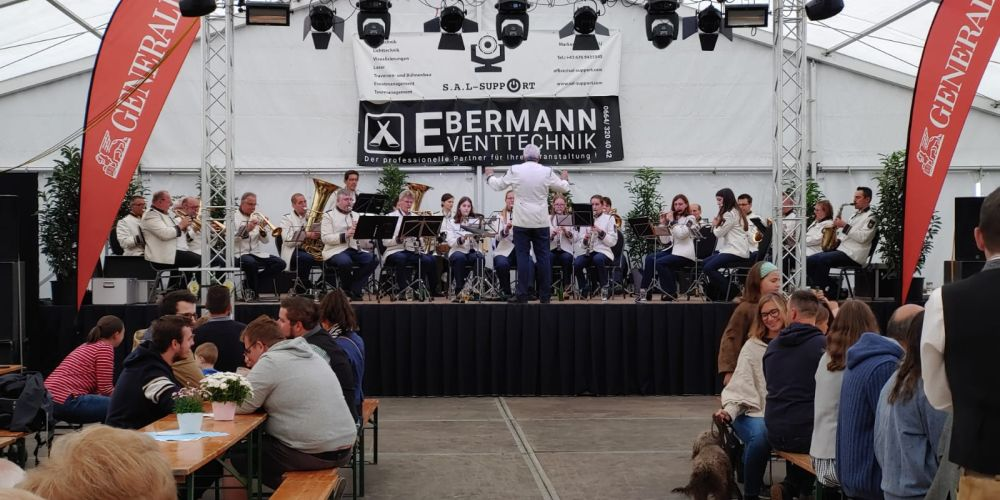 Stadtmusik Hollabrunn bei Projekt Ylvie